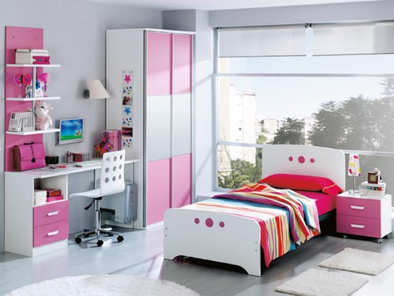 Decoracion de paredes de dormitorios juveniles elegant for Decoracion cuartos juveniles
